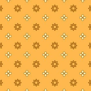 Starry Petals - Sunshine Yellow