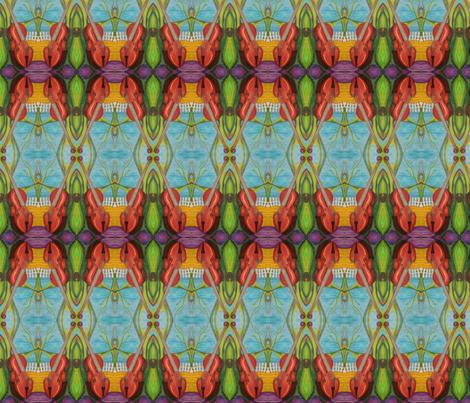 artsygirl2020's shape glyph fabric by artsygirl2020 on Spoonflower - custom fabric