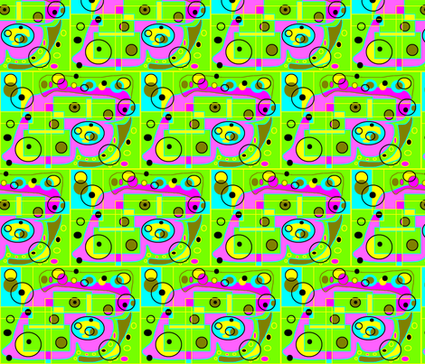 Bright Squares fabric by captiveinflorida on Spoonflower - custom fabric