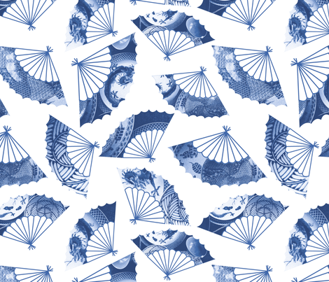 fan47spoon fabric by mmckeithan on Spoonflower - custom fabric