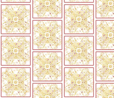 sprudla_mustard_square fabric by snork on Spoonflower - custom fabric