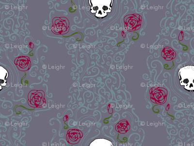 Where the Wild Roses Grow (Moody Purple)