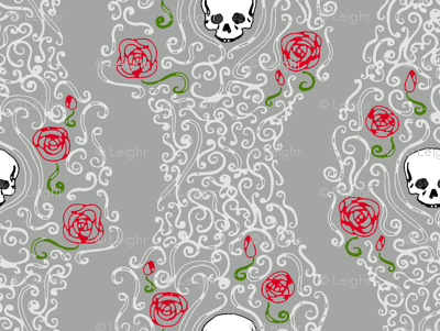 Where the Wild Roses Grow (Grey)