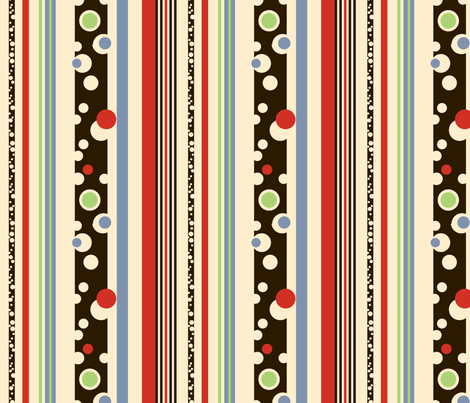 Vintage Stripes fabric by twobloom on Spoonflower - custom fabric