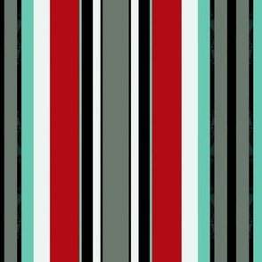 MOULIN / Aqua stripe