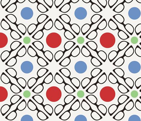 Buddy Holly fabric by audreyclayton on Spoonflower - custom fabric
