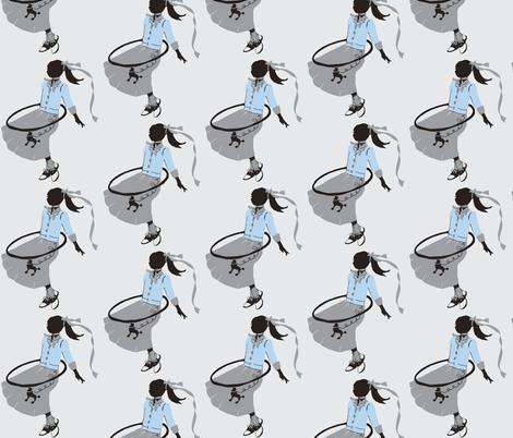Poodle Skirts, Hoola Hoops and Bobby Socks fabric by karenharveycox on Spoonflower - custom fabric
