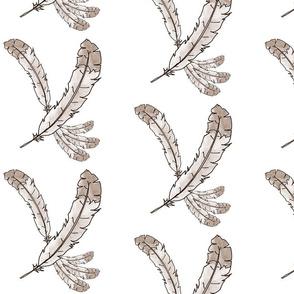 Sepia Feather