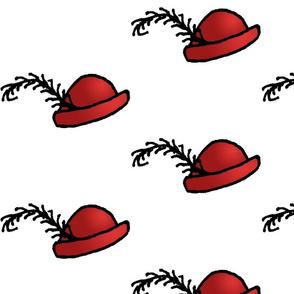 Red Chapeau - Big