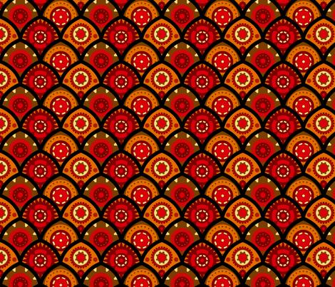 Gears fabric by jadegordon on Spoonflower - custom fabric