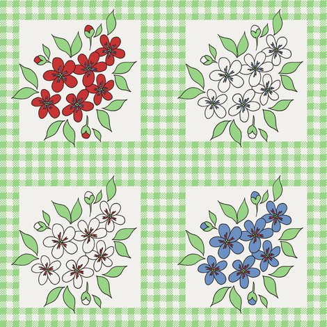 Rrrrrrrrrrframed_flowers_and_gingham_in_green_shop_preview