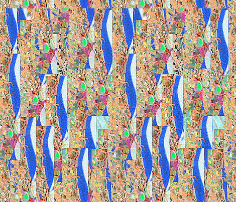 shedding-ed fabric by jellybeanquilter on Spoonflower - custom fabric