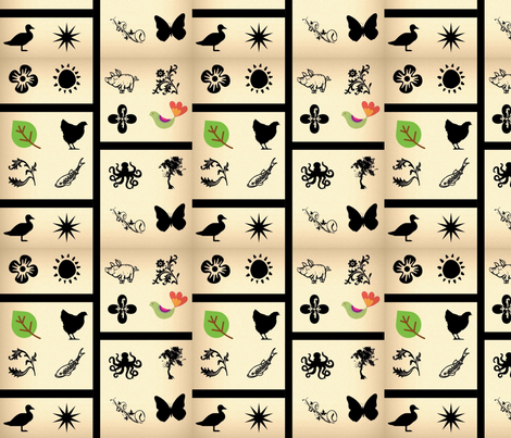 Samoan Holiday fabric by nak_nak on Spoonflower - custom fabric