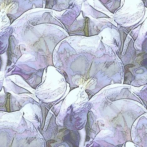 Lavender wisteria fabric by vib on Spoonflower - custom fabric
