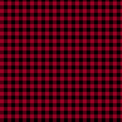 sable and crimson gingham fabric by weavingmajor on Spoonflower - custom fabric