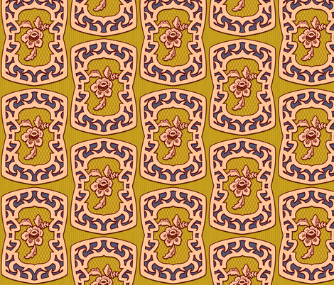 Fifties Design 4 fabric by jadegordon on Spoonflower - custom fabric