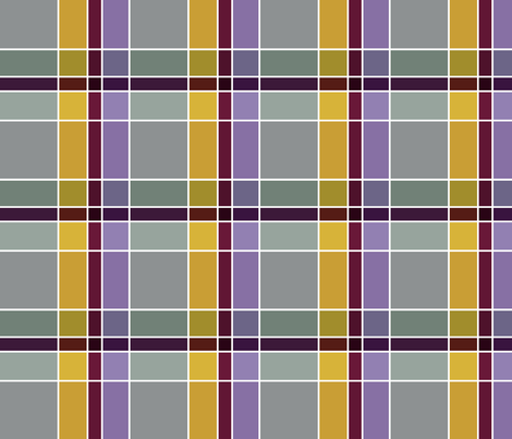Plaid 3 fabric by chris on Spoonflower - custom fabric