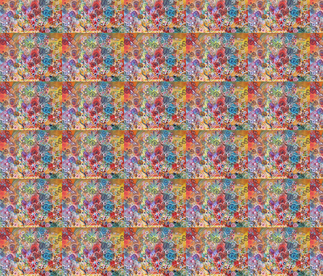 Ellie's Garden fabric by kristenstein on Spoonflower - custom fabric