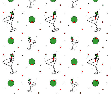 OliveU fabric by stickelberry on Spoonflower - custom fabric