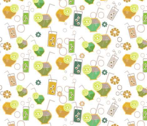 Cent'anni fabric by mandyh on Spoonflower - custom fabric