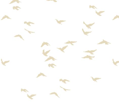 Fawn Flock Reversed fabric by bunni on Spoonflower - custom fabric