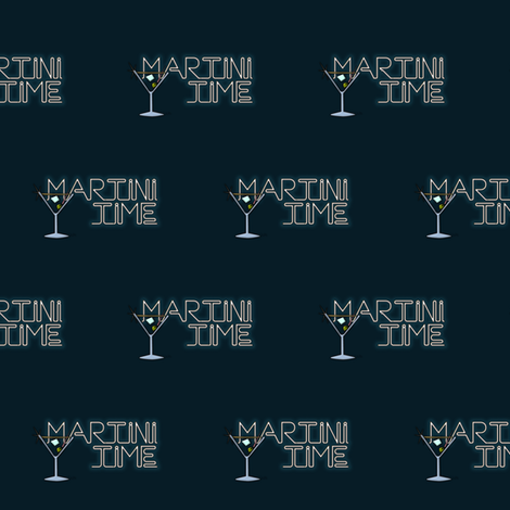 Martini Time fabric by jazilla on Spoonflower - custom fabric