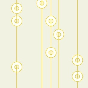 Yellow Rings on Yellow Strings