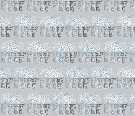 monsterghost3 fabric by myers-cho on Spoonflower - custom fabric