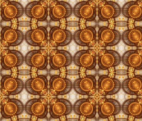 The Gilt Compass fabric by winter on Spoonflower - custom fabric