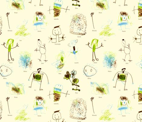 Chickadee Class Fabric! fabric by freshlypieced on Spoonflower - custom fabric