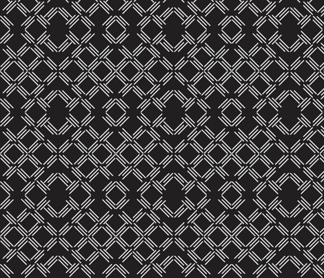 triplewhiteandblack fabric by dolphinandcondor on Spoonflower - custom fabric