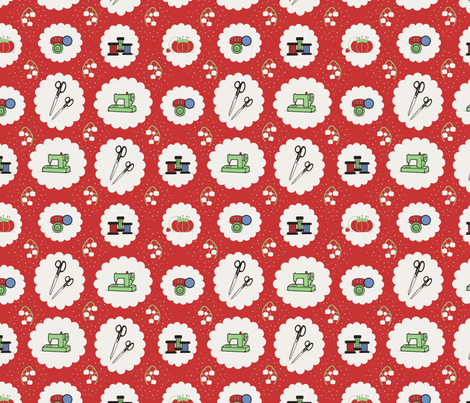 Fabulous Fifties  fabric by mayabella on Spoonflower - custom fabric