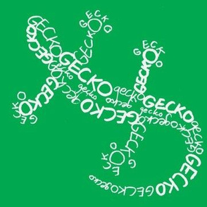 Gecko Calligram