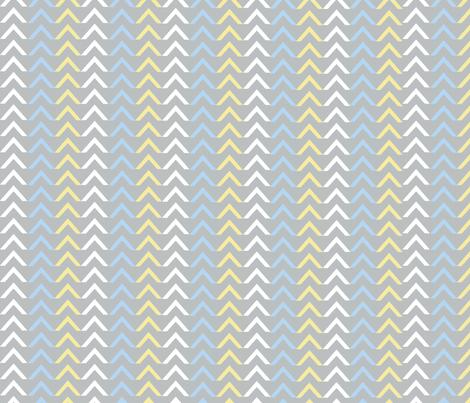 Arrow blue / Lg fabric by paragonstudios on Spoonflower - custom fabric