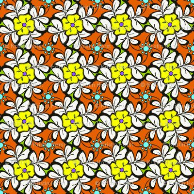 Floral Tessellations