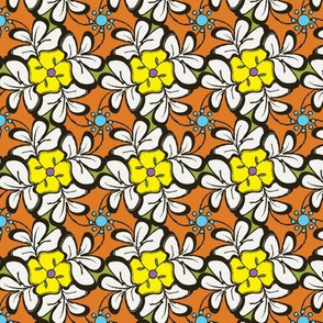 Floral Tessellations
