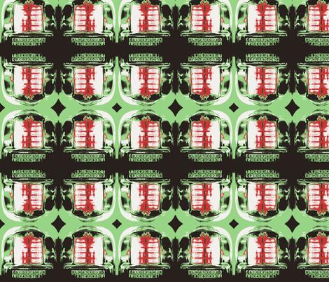 50's JukeBox fabric by twoboos on Spoonflower - custom fabric