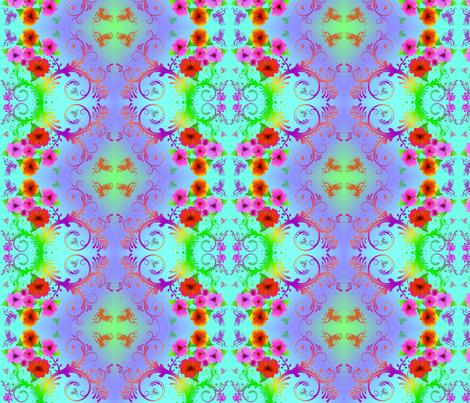 Hawaiian Dream fabric by megansly on Spoonflower - custom fabric