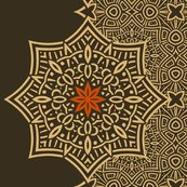 Rpattern_sepia_celtic_flower_accent_shop_thumb