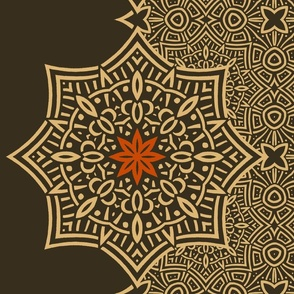 pattern_sepia_celtic_flower_accent