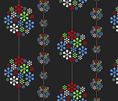 cluster fabric by maisie-may on Spoonflower - custom fabric