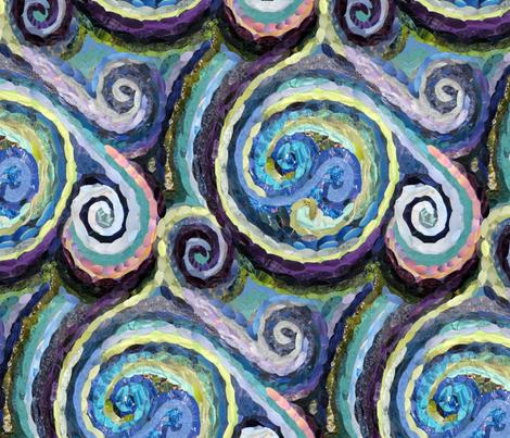 Rainy Day Reverie fabric by cricketswool on Spoonflower - custom fabric