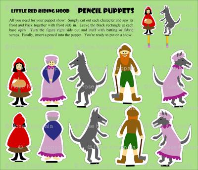 pencilpuppets