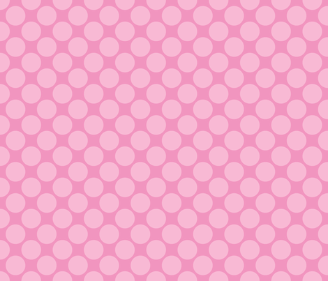 Pink Circus Polk fabric by mayabella on Spoonflower - custom fabric