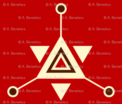 Triangular Galactic Red