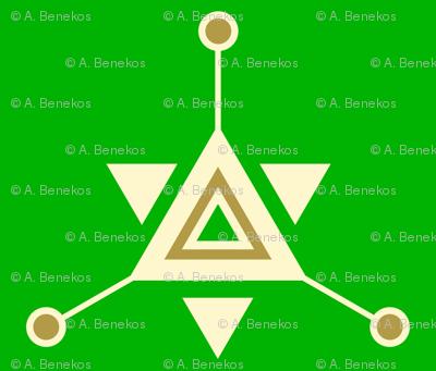 Triangular Galactic Green