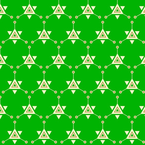 Triangular Galactic Green