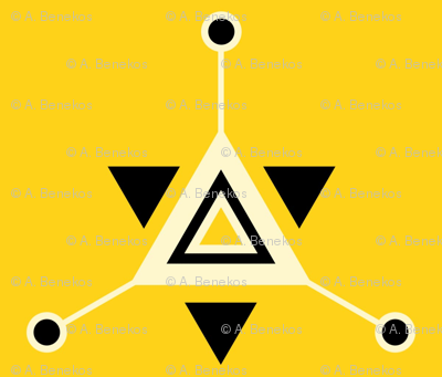 Triangular Galactic Yellow