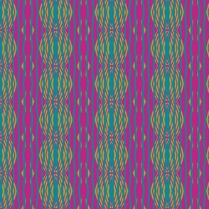 Lime Turquoise Plum Magenta Orange Color way Collection