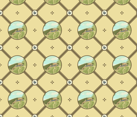 Pellegiam Plantation fabric by siya on Spoonflower - custom fabric